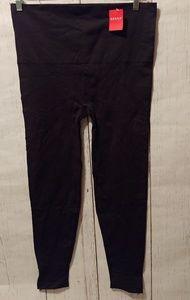 Spanx Black Zip Leg Leggings